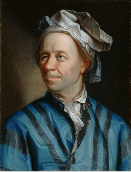 Leonhard Euler by Jakob Emanuel Handmann (1753) via the Creative Commons